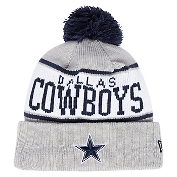 Dallas Cowboys New Era Mens Stripe Knit Hat