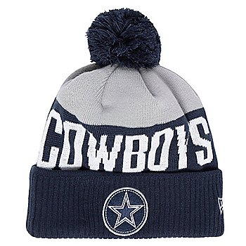 Dallas Cowboys New Era Mens Patch Knit Hat