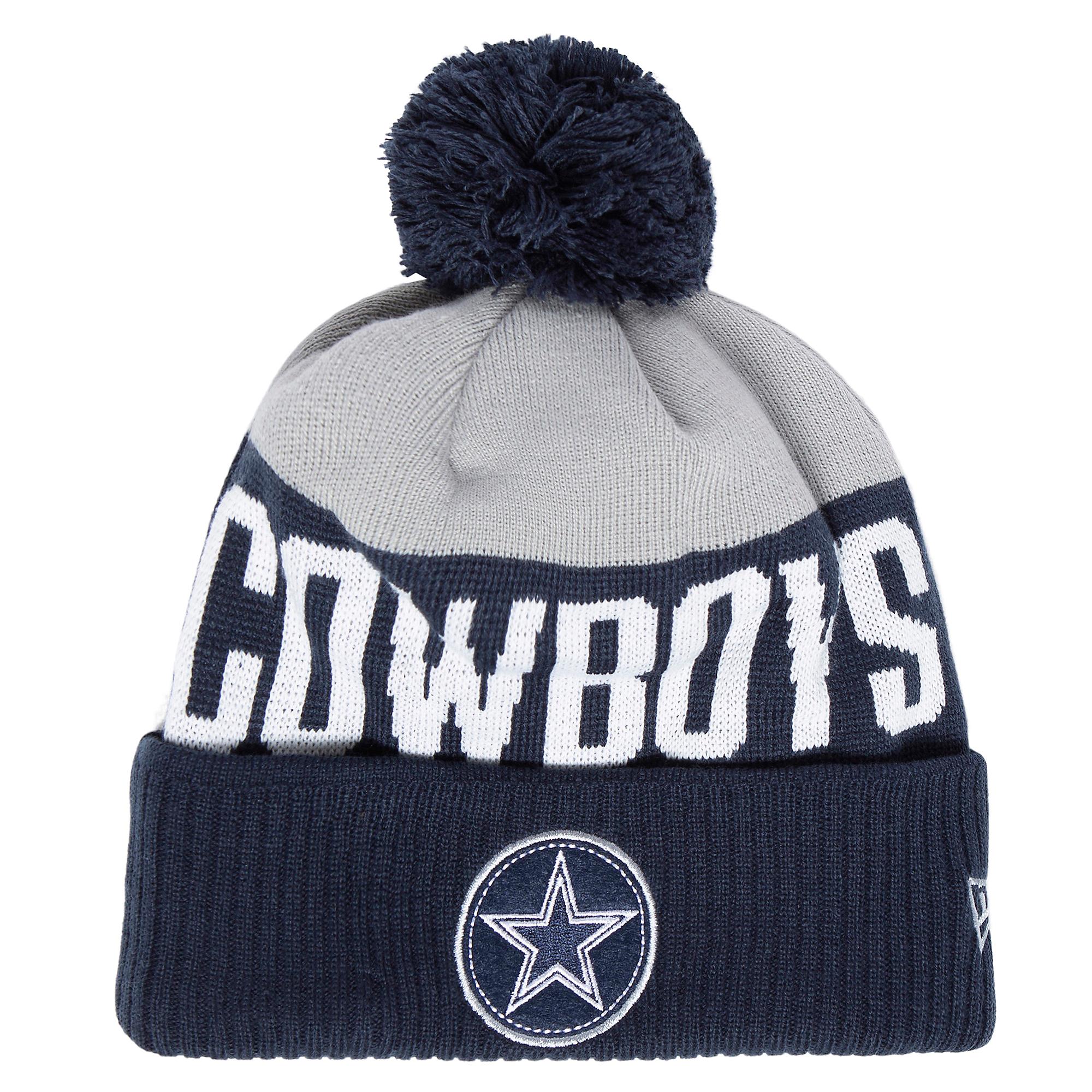 Dallas Cowboys New Era Mens Patch Knit Hat