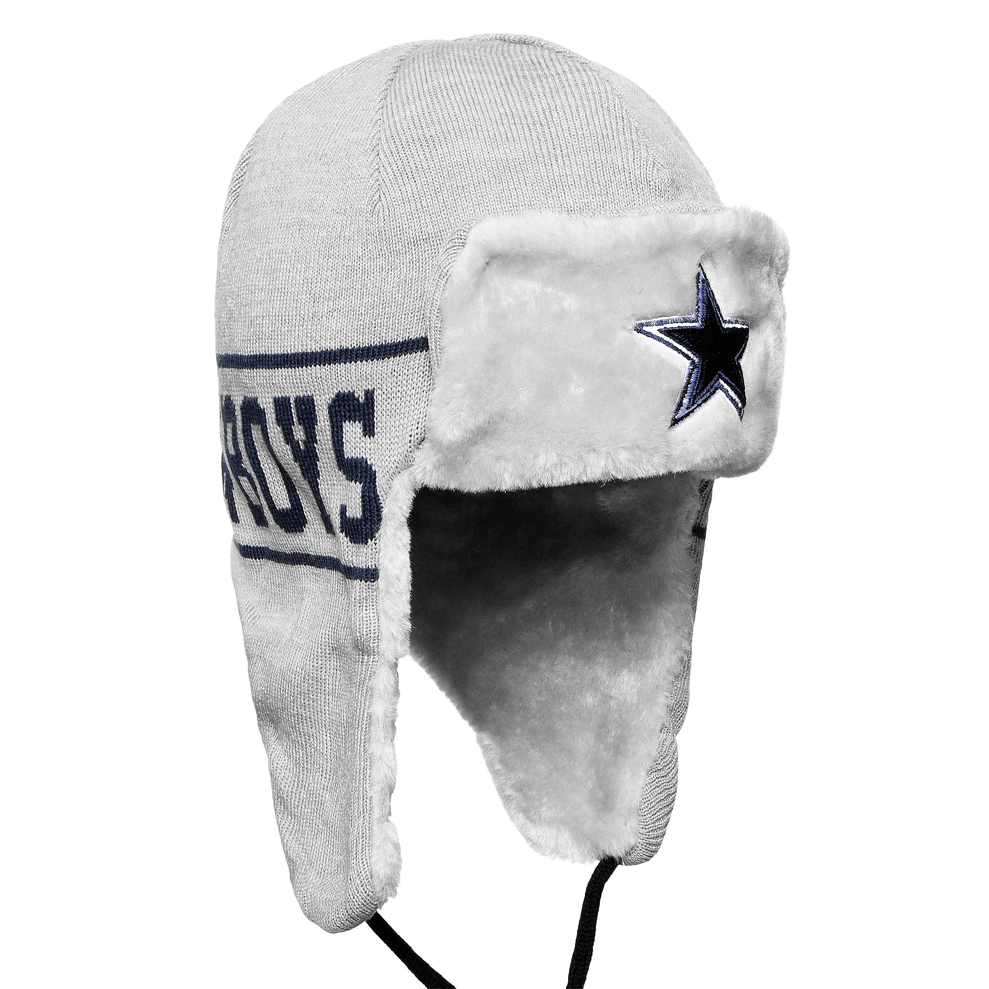 Dallas Cowboys New Era Mens Trapper Knit Hat