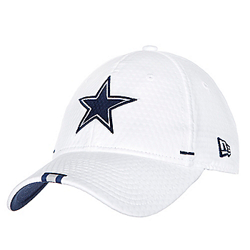Dallas Cowboys New Era Mens White Training 9Twenty Cap