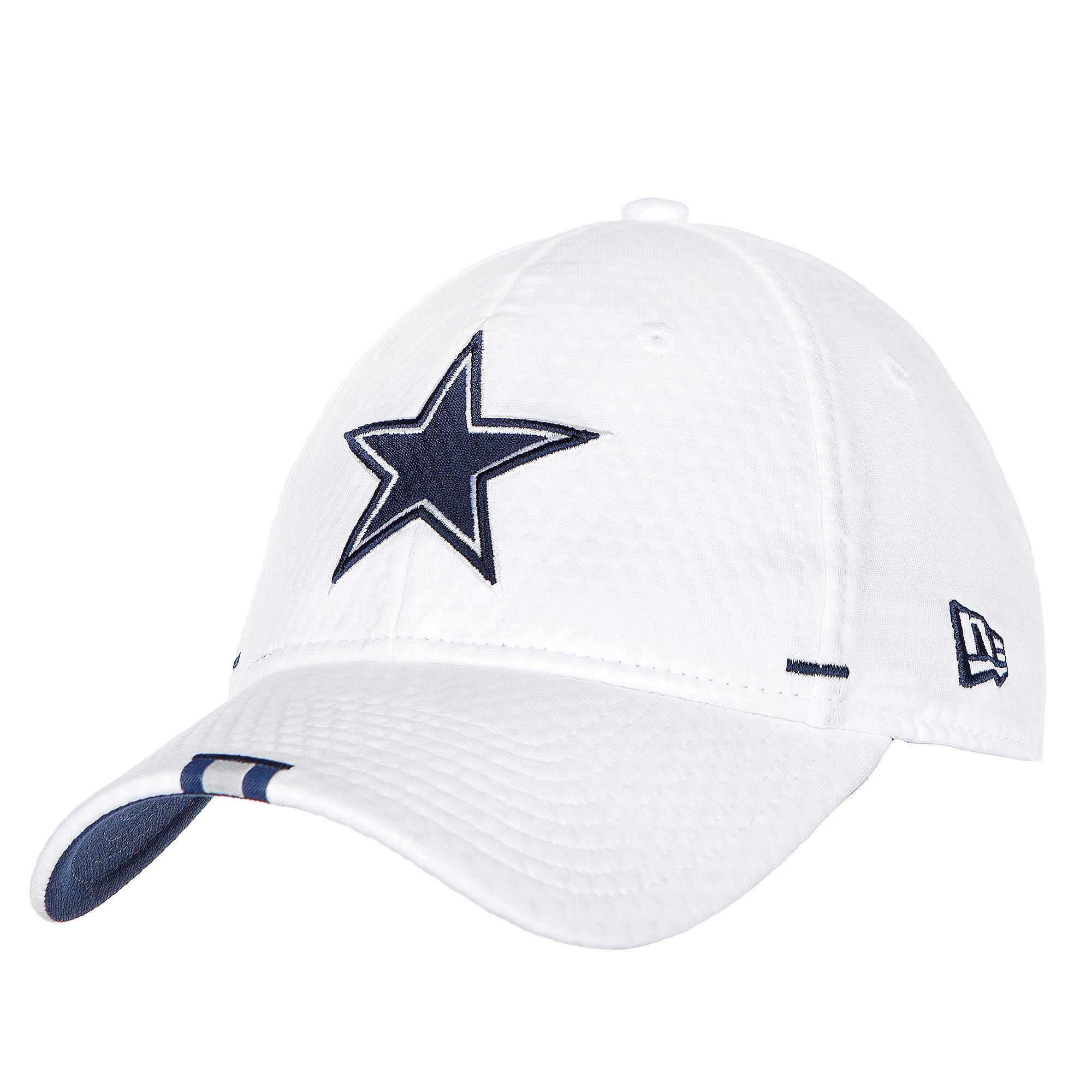 Dallas Cowboys New Era Mens White Training 9Twenty Cap