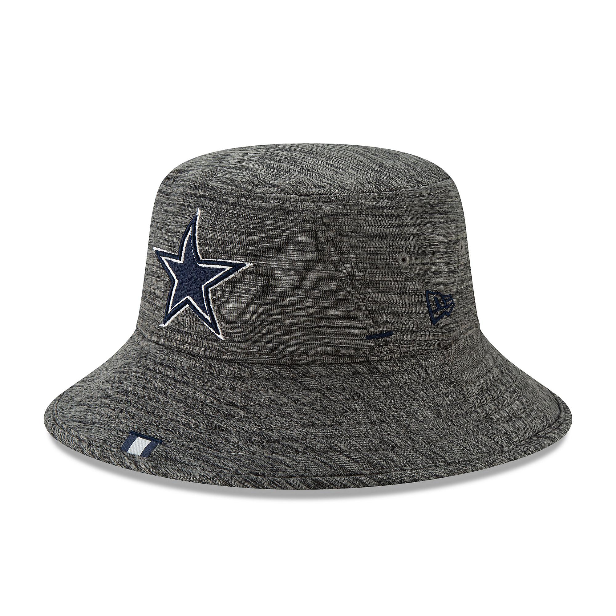 Dallas Cowboys New Era Mens Training Bucket Hat