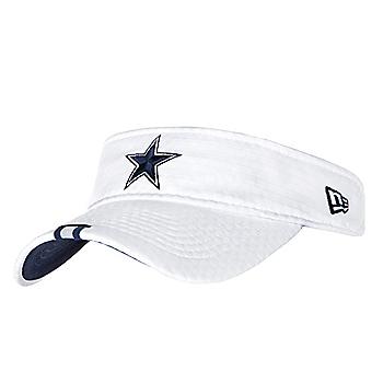 Dallas Cowboys New Era Mens White Training Visor