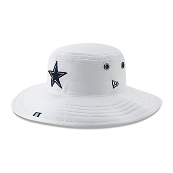 Dallas Cowboys New Era Mens Panama Training Bucket Hat
