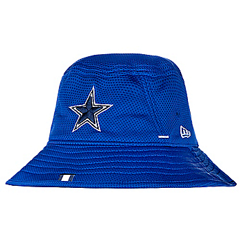 Dallas Cowboys New Era Mens Royal Training Bucket Hat