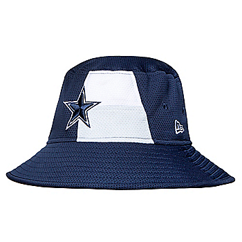 Dallas Cowboys New Era 2019 Draft Mens Bucket Hat