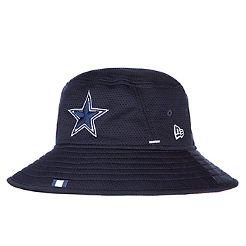 hot sale online 6d2c4 70776 Dallas Cowboys New Era Mens Navy Training Bucket Hat