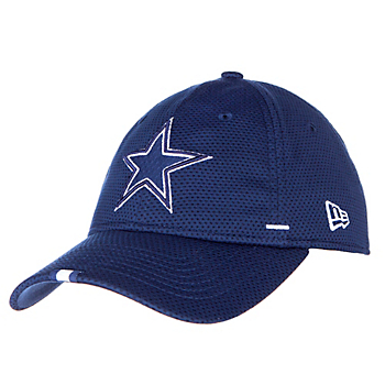 free shipping 264bd dc4ba Dallas Cowboys New Era Mens Navy Training 9Twenty Cap
