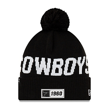 Dallas Cowboys New Era Mens Sport Road Knit Hat