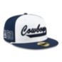 Dallas Cowboys New Era Mens 1960s Sideline 59Fifty Hat