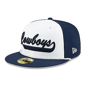 Dallas Cowboys New Era Mens 1960s Sideline 59Fifty Hat