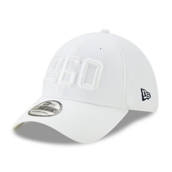 Dallas Cowboys New Era Mens White On-Field Sideline 39Thirty Hat