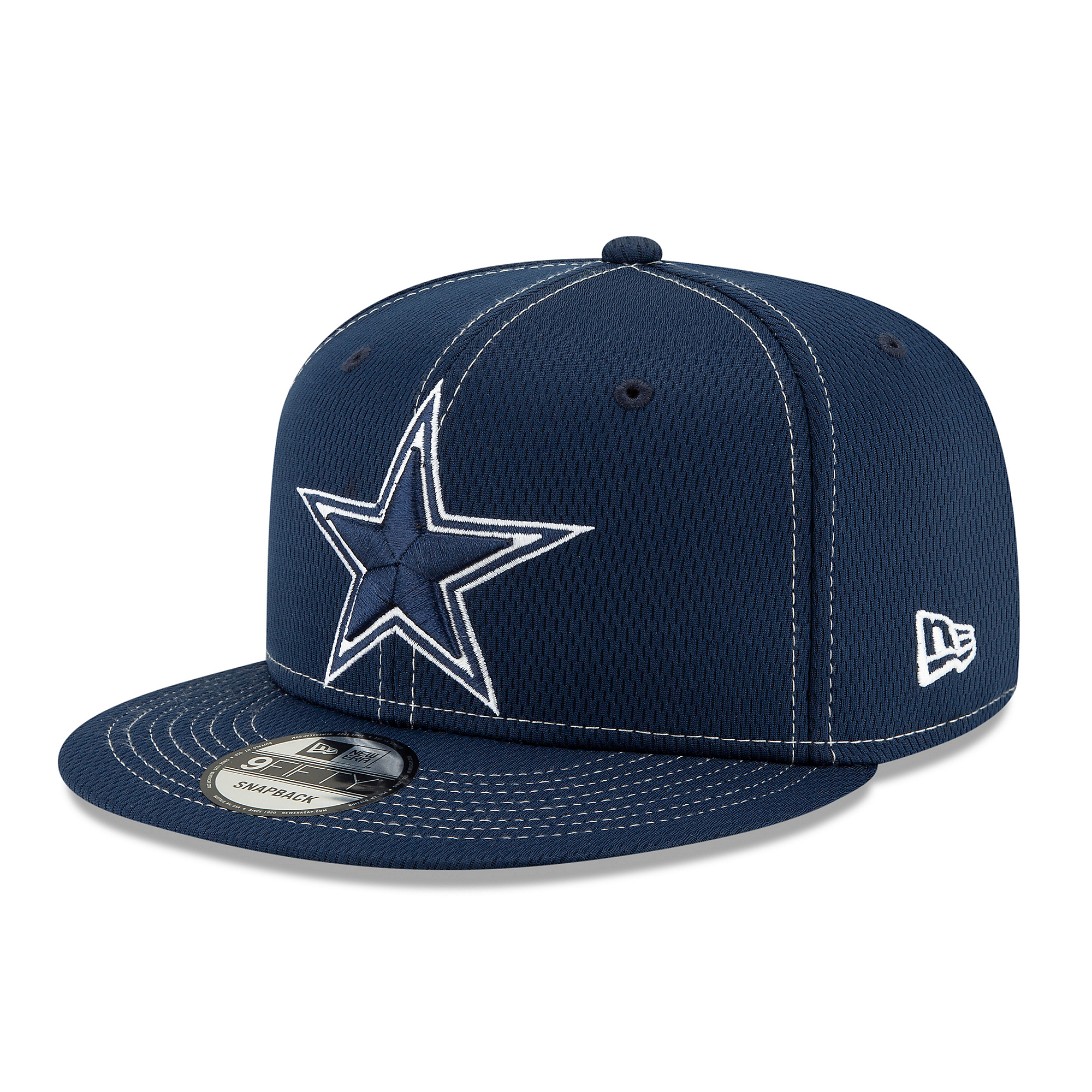 Dallas Cowboys New Era Mens Navy On-Field Sideline Road 9Fifty Cap
