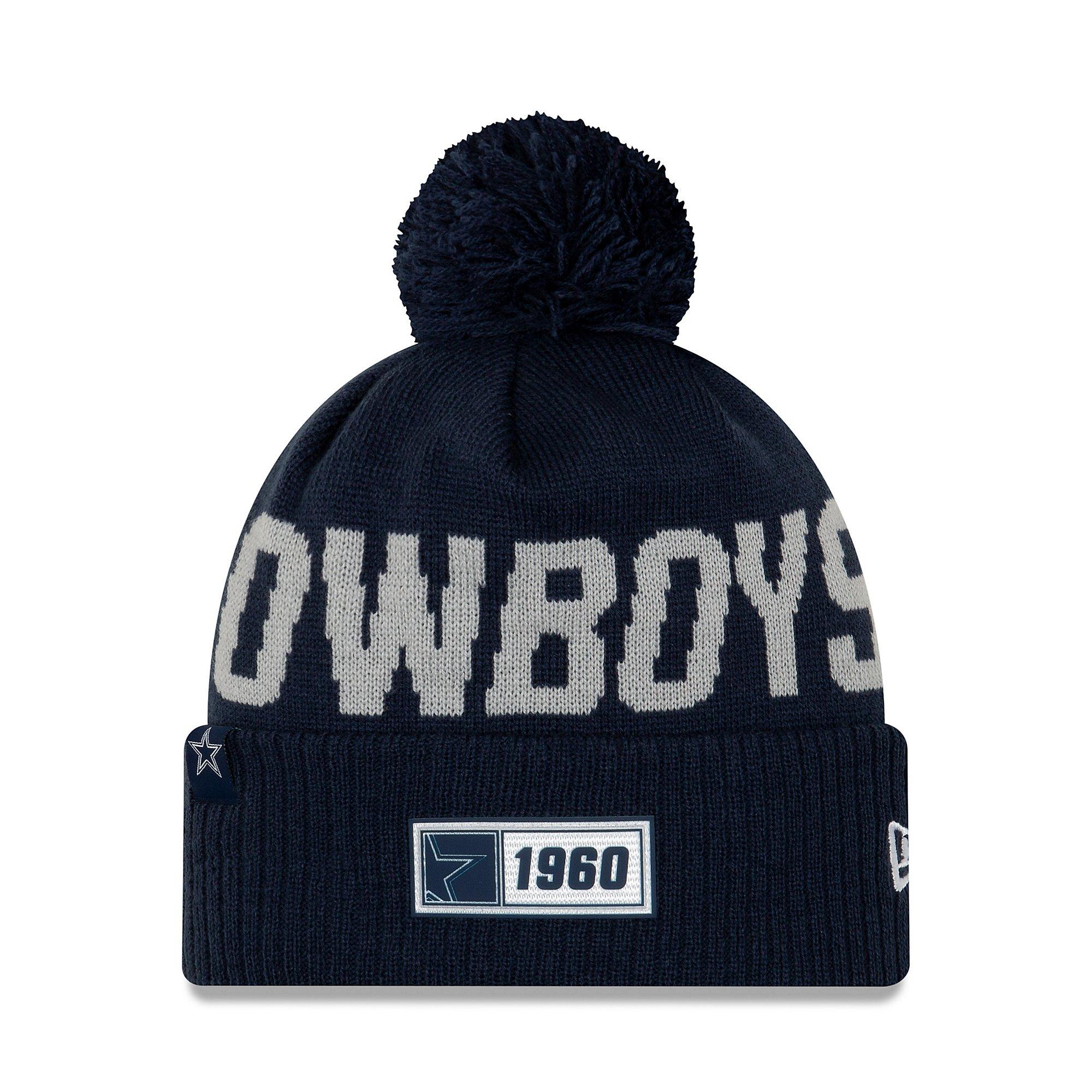 Dallas Cowboys New Era Mens Sport Road Knit Hat