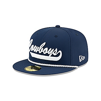 Dallas Cowboys New Era Mens Navy On-Field Sideline Home 9Fifty Cap