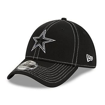 Dallas Cowboys New Era Mens Black Sideline Road 39Thirty Cap