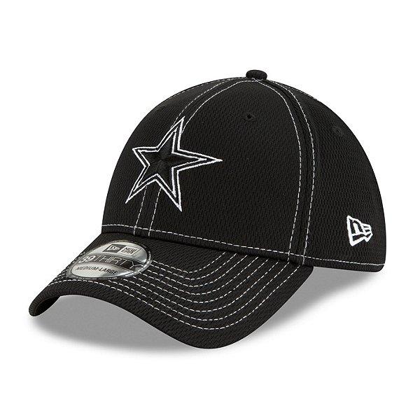 Dallas Cowboys New Era Mens Black Sideline Road 39Thirty Cap
