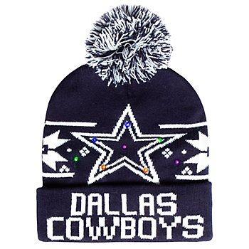 Dallas Cowboys Dasher LED Light Up Knit Hat