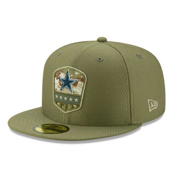 Dallas Cowboys New Era Salute to Service Mens 59Fifty Cap