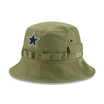 Dallas Cowboys New Era Salute to Service Mens Bucket Hat