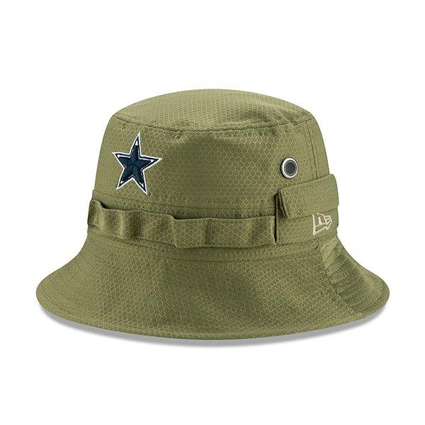 Dallas Cowboys New Era Salute to Service Mens Bucket Hat