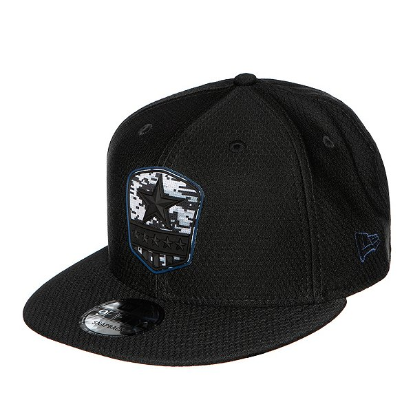 Dallas Cowboys New Era Salute to Service Mens Black 9Fifty Cap