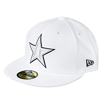 Dallas Cowboys New Era Mens On-Field Platinum 59Fify Cap