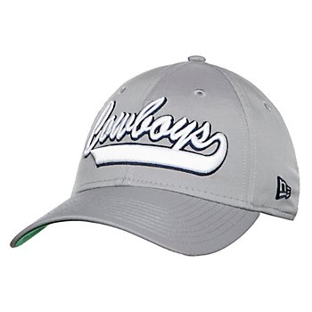 Dallas Cowboys New Era Mens Grey 1960s Sideline 39Thirty Cap