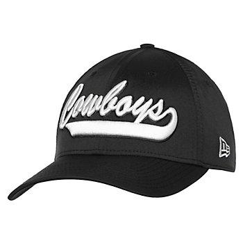 Dallas Cowboys New Era Mens Black 1960s Sideline 39Thirty Hat