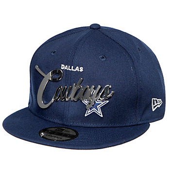 Dallas Cowboys New Era Mens Metal Name 9Fifty Cap