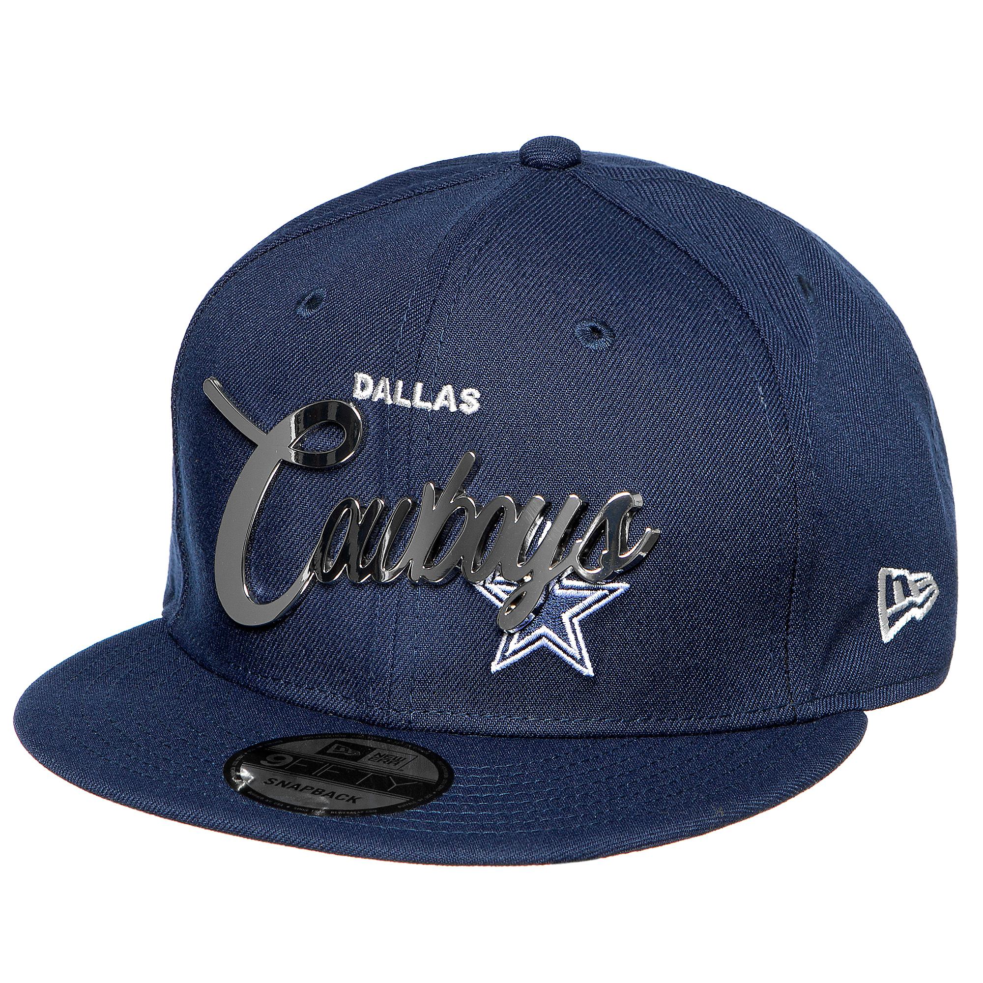Dallas Cowboys New Era Mens Metal Name 9Fifty Cap
