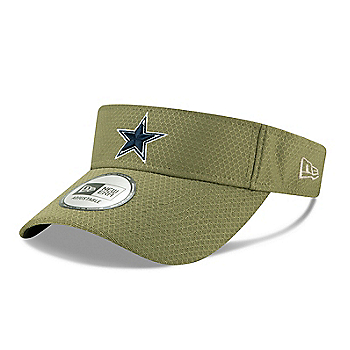 Dallas Cowboys New Era Salute to Service Mens Visor