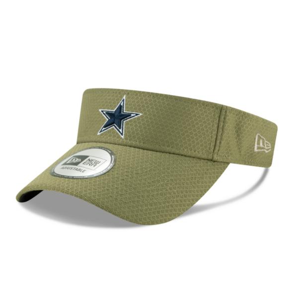 Dallas Cowboys New Era Salute to Service Mens Visor
