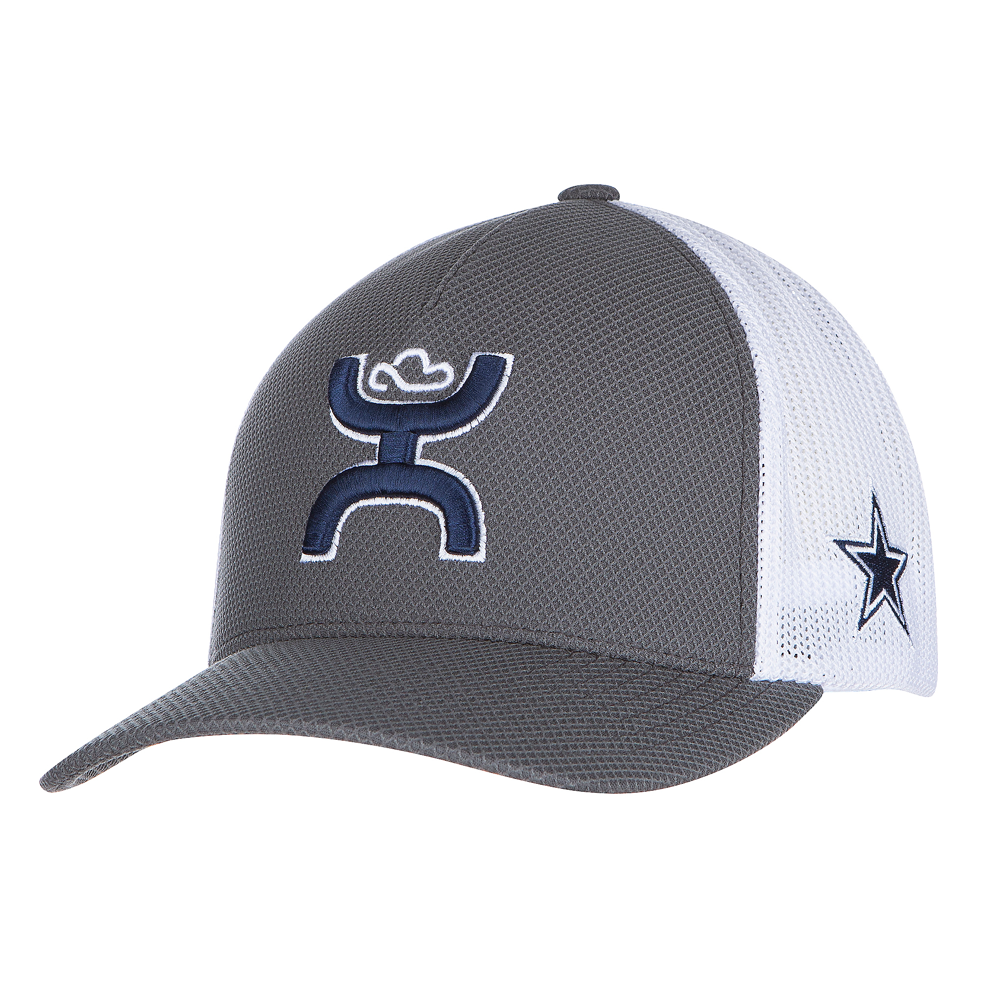 Dallas Cowboys Hooey Mens Lazuli Flex Fit Cap