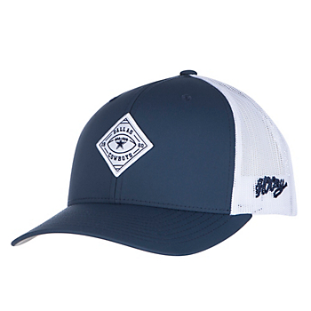 Dallas Cowboys Hooey Mens Obsidian Adjustable Cap
