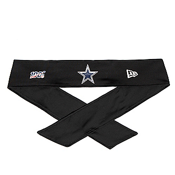 Dallas Cowboys New Era NFL 100 Tie Headband