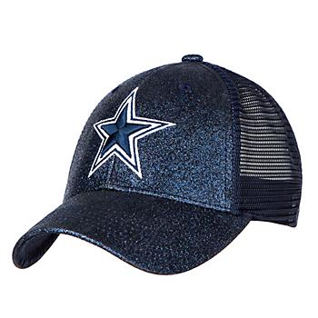 Dallas Cowboys Womens Crystal Snapback Cap