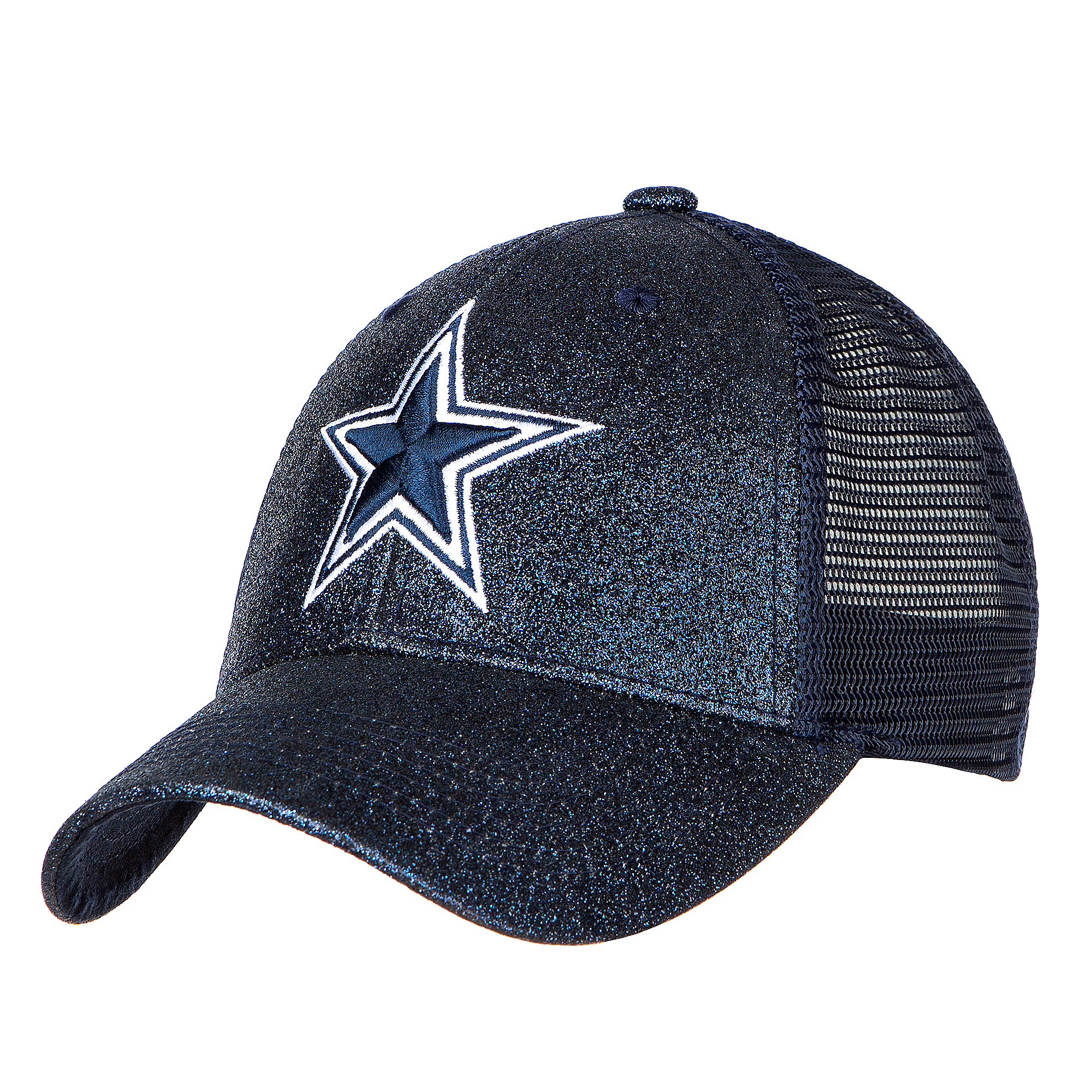 Dallas Cowboys Womens Crystal Snapback Cap