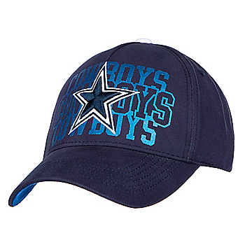 Dallas Cowboys Womens Triple Play Snapback Cap