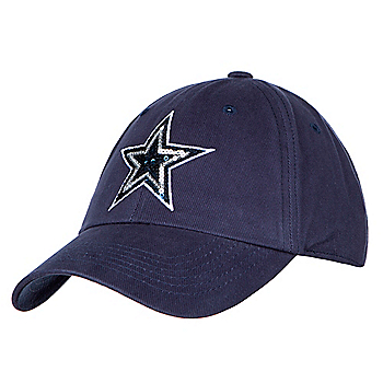 Dallas Cowboys Womens Shimmer Adjustable Cap