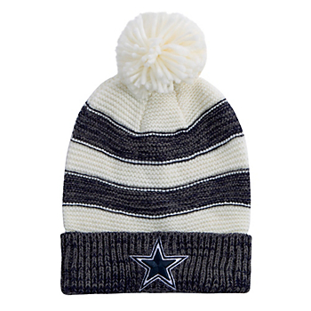 Dallas Cowboys Womens Sterling Knit Hat