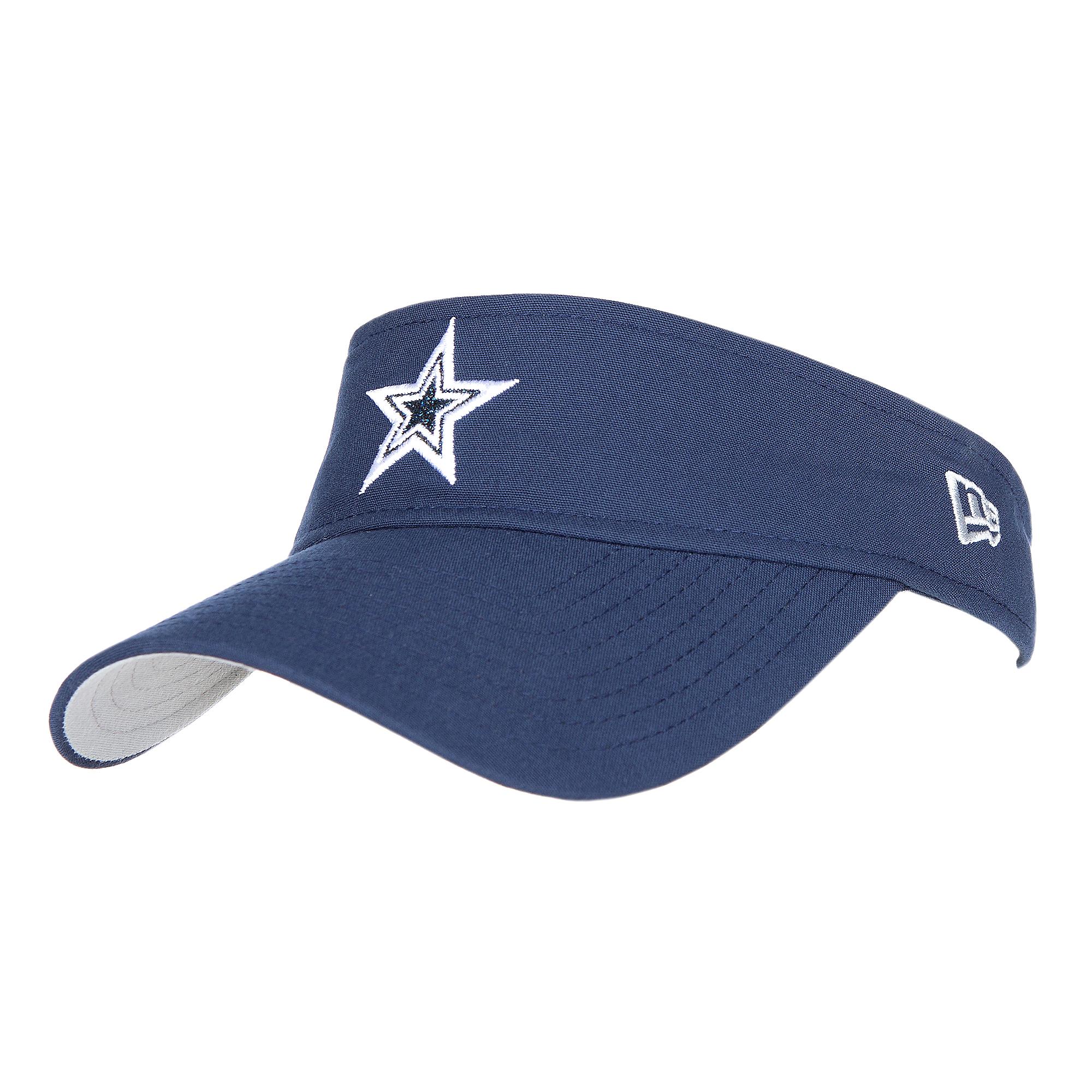 0eff3732 Dallas Cowboys New Era Womens Team Glisten Visor   Dallas Cowboys Pro Shop