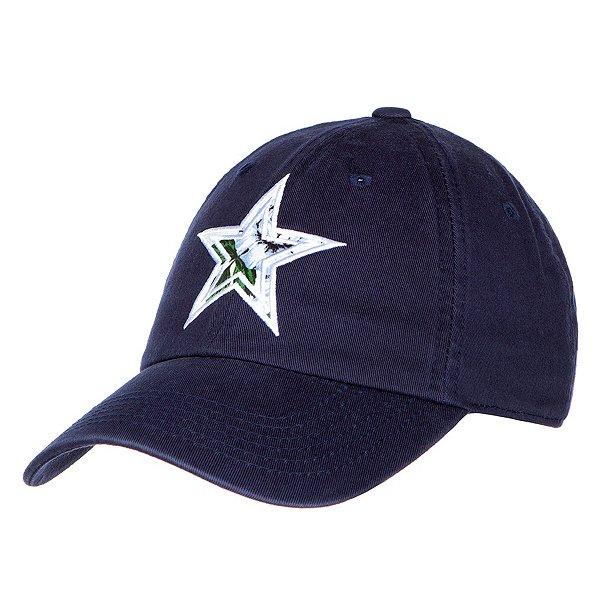 Dallas Cowboys Womens Navy Fabric Star Hat