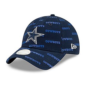 Dallas Cowboys New Era Womens Worded 9Twenty Cap