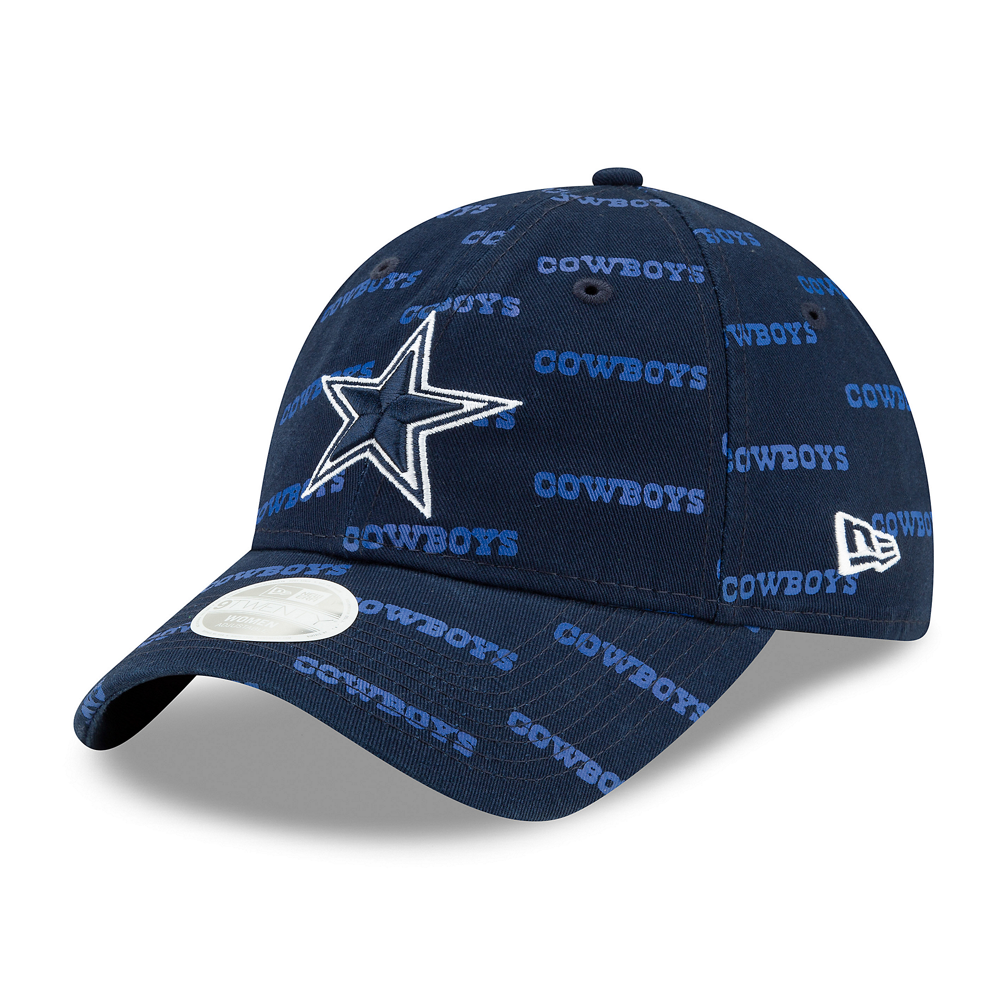 Dallas Cowboys New Era Womens Worded 9Twenty Cap