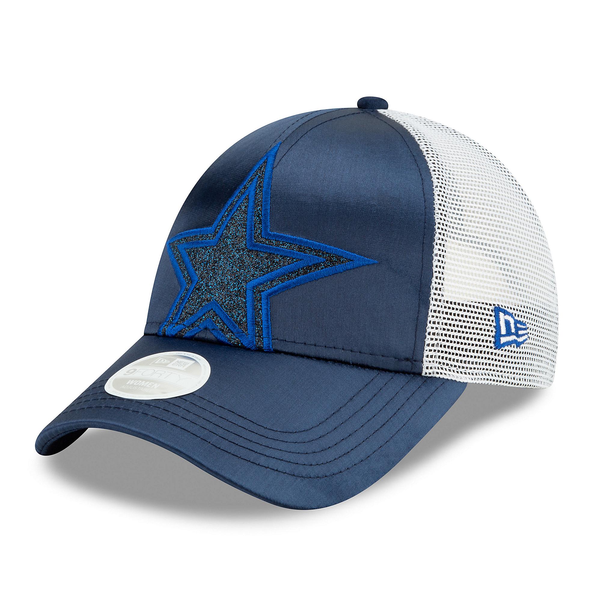 Dallas Cowboys New Era Womens Radiant Team Trucker 9Forty Cap