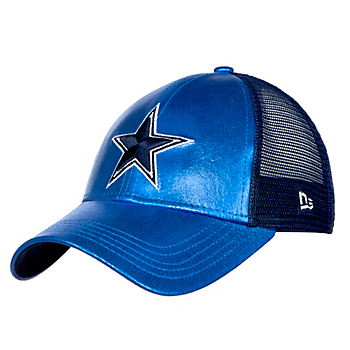 Dallas Cowboys New Era Womens Glittered Trucker 9Forty Cap