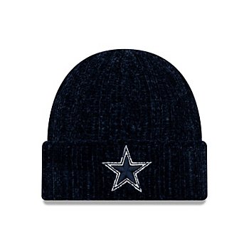 Dallas Cowboys New Era Womens Velour Knit Hat
