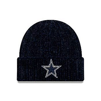 Dallas Cowboys New Era Womens Velour Knit Hat